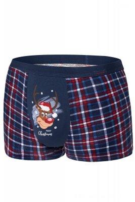 Cornette Merry Christmas Reindeer 007/57 bokserki męskie