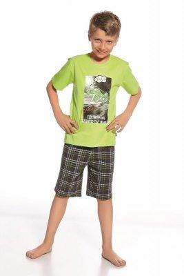 Cornette 801/48 Fly seledynowy piżama chłopięca