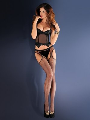 Gabriella Erotica Strip Panty 151 636 rajstopy