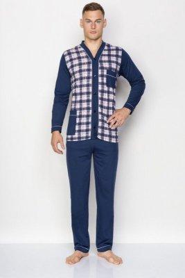 Kuba Dżentelmen Rozpinana Nadwymiar 8XL piżama męska