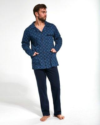 Cornette 114/44 Rozpinana piżama męska