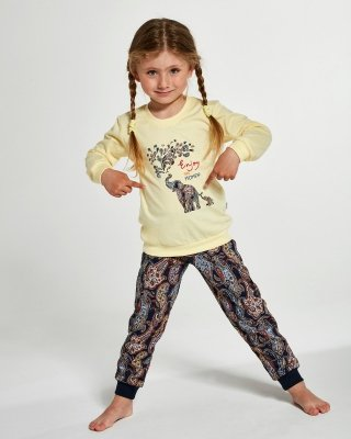 Cornette Young Girl 592/133 Elephants 134-164 piżama dziewczęca