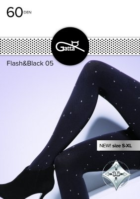 Gatta Flash & Black wz.05 60 den rajstopy damskie