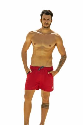 Henderson Hooper 37833-33X Czerwone męskie szorty kąpielowe