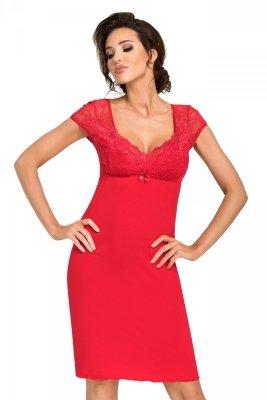 Donna Brigitte czerwona Koszula nocna