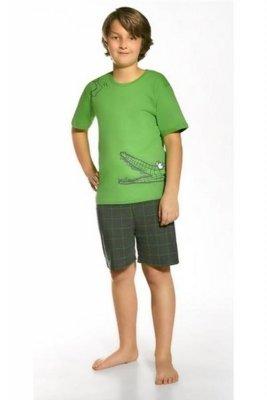 Cornette 789/34 Hungry crocodile zielony piżama chłopięca
