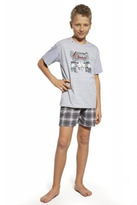 Cornette 90/61 Champion melanż piżama chłopięca