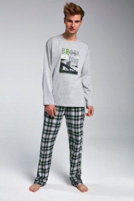 Cornette F&Y 553/32 brooklyn melanżowy piżama męska