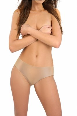 Sesto Senso Second skin beżowe Figi damskie