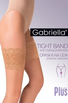 Gabriella Code 509 Koronkowa opaska na uda
