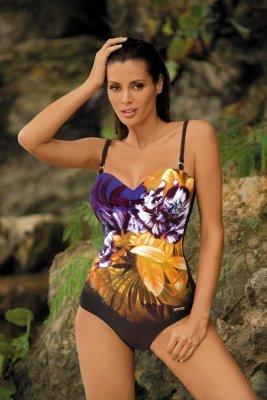Kostium kąpielowy Marko Caitlyn M-370 Nero-Bright Violet
