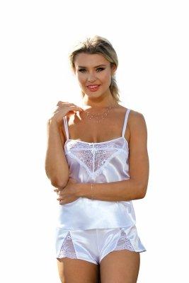 DKaren Zala Biały piżama damska