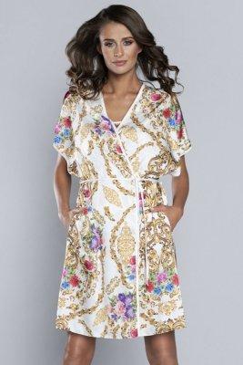 Italian Fashion Gold szlafrok damski