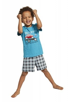 Cornette 789/80 Kids Car Transporter piżama chłopięca