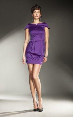 Nife Allesandria s11 Fiolet sukienka