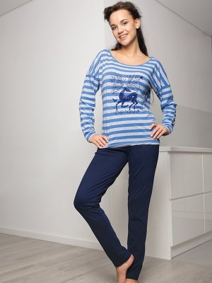 Key Bambi LHS 339 B5 piżama damska
