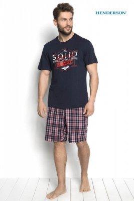 Henderson Duke 34271-59X Granatowa piżama męska