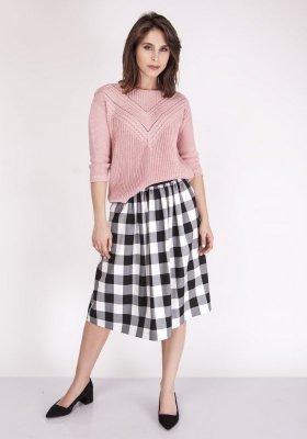 MKM Penny SWE 041 Pudrowy róż sweter