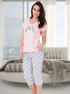 M-Max Benita 617 Różowa piżama damska