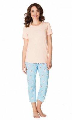 Wadima Candy Peach 104445 piżama damska