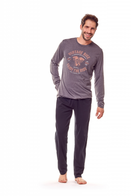 Henderson Flame 36202-90X Grafitowa piżama męska