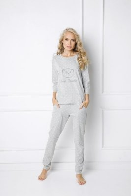 Aruelle Sweet Bear Long piżama damska
