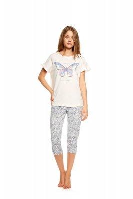 Henderson Twinkle 36813-03X Różowo-szara piżama damska