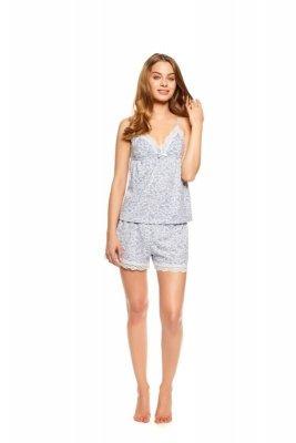 Henderson Twinkle 36814-09X Szara piżama damska