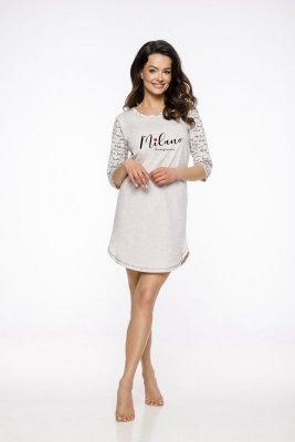 Taro Rita AW/19 K01 Beżowa koszula nocna