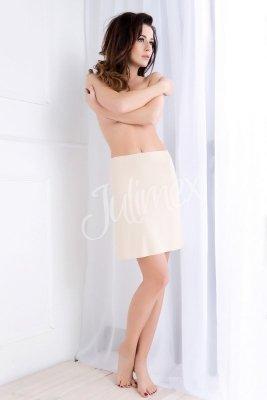 Julimex  Soft & Smooth Beżowa półhalka
