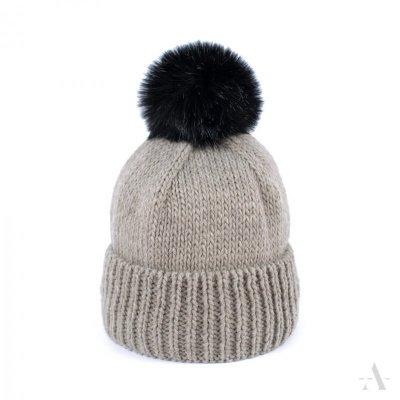 Art of Polo Uroczy Klasyk Beżowa czapka
