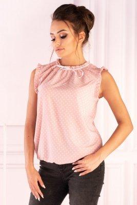 Merribel Amargo Pink White bluzka damska