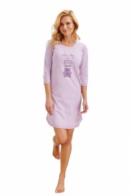 Taro Rita 1186 AW/20 - Kolor 01 - Fioletowa damska koszula nocna