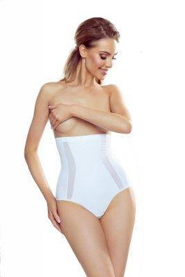 Eldar Viera Białe damskie figi modelujące