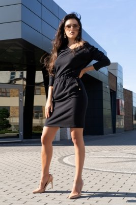 Merribel Ponitama Black sukienka damska