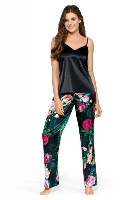 Babella Alicja Czarna piżama damska