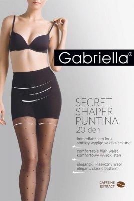 Gabriella Secret Shaper Puntina 20 Den code 680 rajstopy damskie