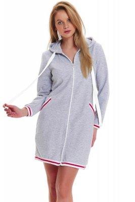 Dn-nightwear SMZ.9455 szlafrok damski
