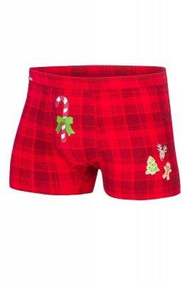Cornette Merry Christmas Candy Cane 017/42 bokserki