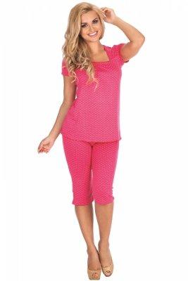 De Lafense Kropki 919 piżama damska