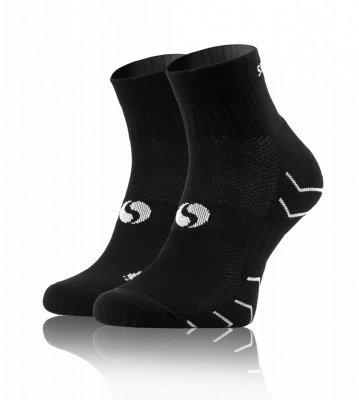 Sesto Senso Frotte Sport Socks czarne Skarpety