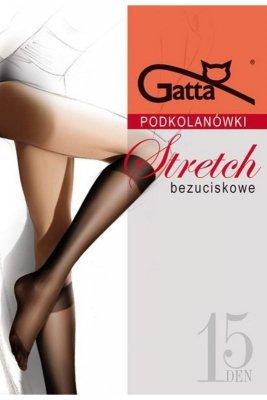 Gatta stretch grafitowy podkolanówki