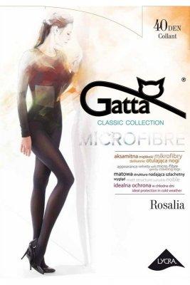 Gatta rosalia microfibre 40 den kawowy rajstopy