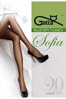Gatta elastil sophia plus grigio rajstopy