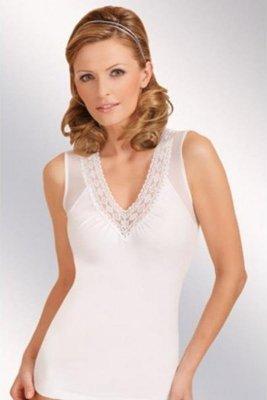 Eldar Magnolia plus biały koszulka