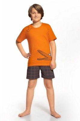 Cornette 789/35 pomarańczowy piżama chłopięca