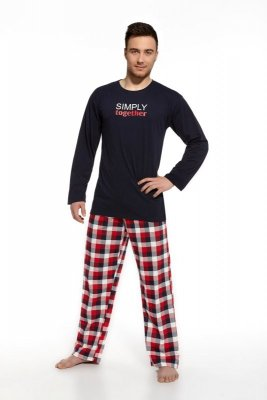 Cornette 124/46 Simply toghether granatowy piżama męska