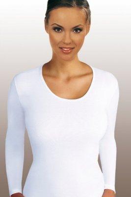 Emili Lena plus biały koszulka