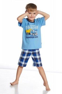 Cornette 789/41 Dumper niebieski piżama chłopięca