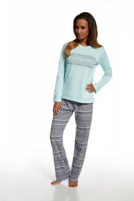 Cornette 655/103 Stars 3 turkusowy piżama damska